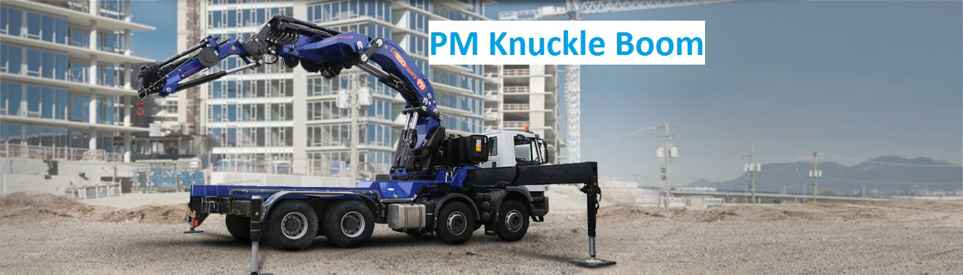 PM knuckle boom for sale